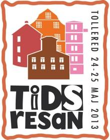Tidsresan Logotyp Färg med text